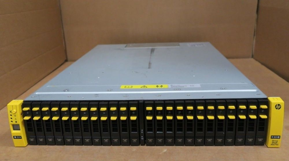 HP 3Par M6710 7200 2-Node Base 2U Array 10.8TB HDD 2x Raid Controller 683245-001